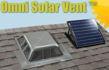 Lomanco Omni Solar Attic Fan